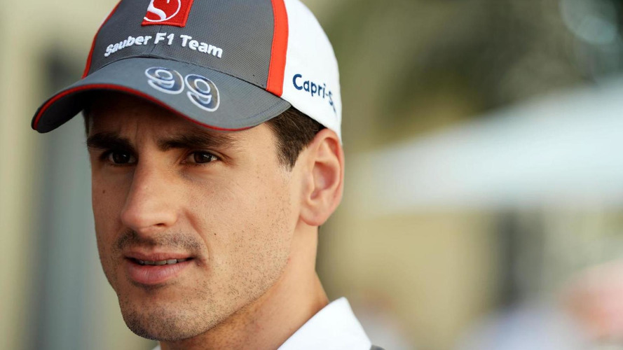 Williams signs Sutil as 2015 reserve