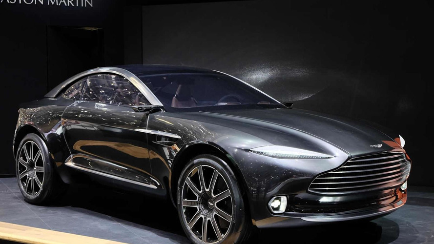 Aston Martin DBX to be assembled in Wales