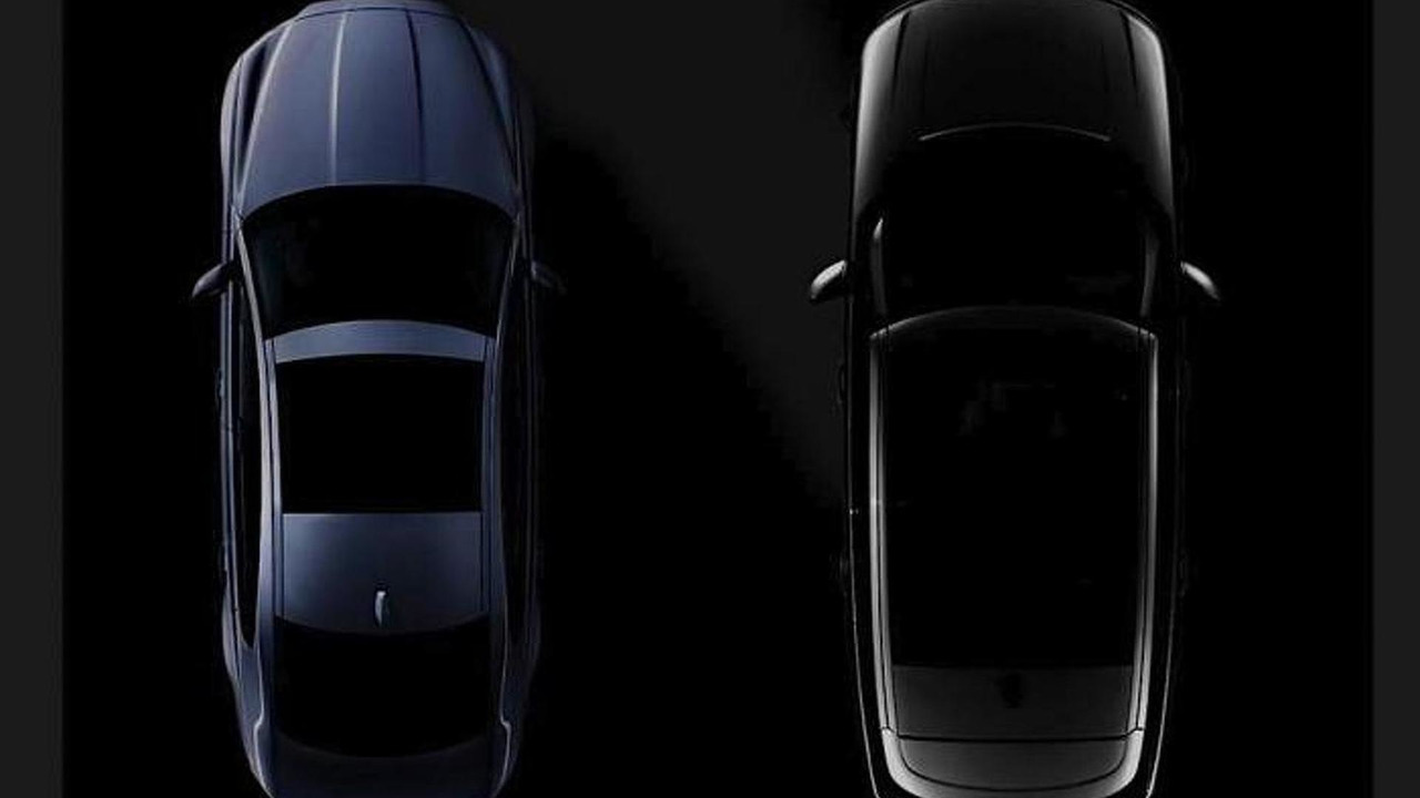 Jaguar XF and ultra-luxury Range Rover teaser image