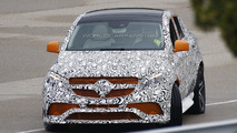 2016 Mercedes-Benz GLE 63 AMG Coupe spy photo