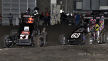 Christopher Bell and Bryan Clauson