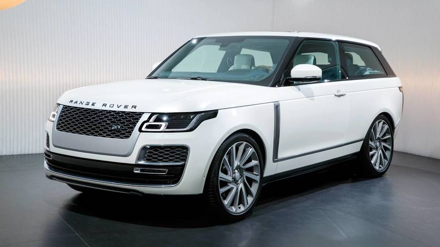 Nostalgia-tastic three-door Range Rover SV Coupe revealed