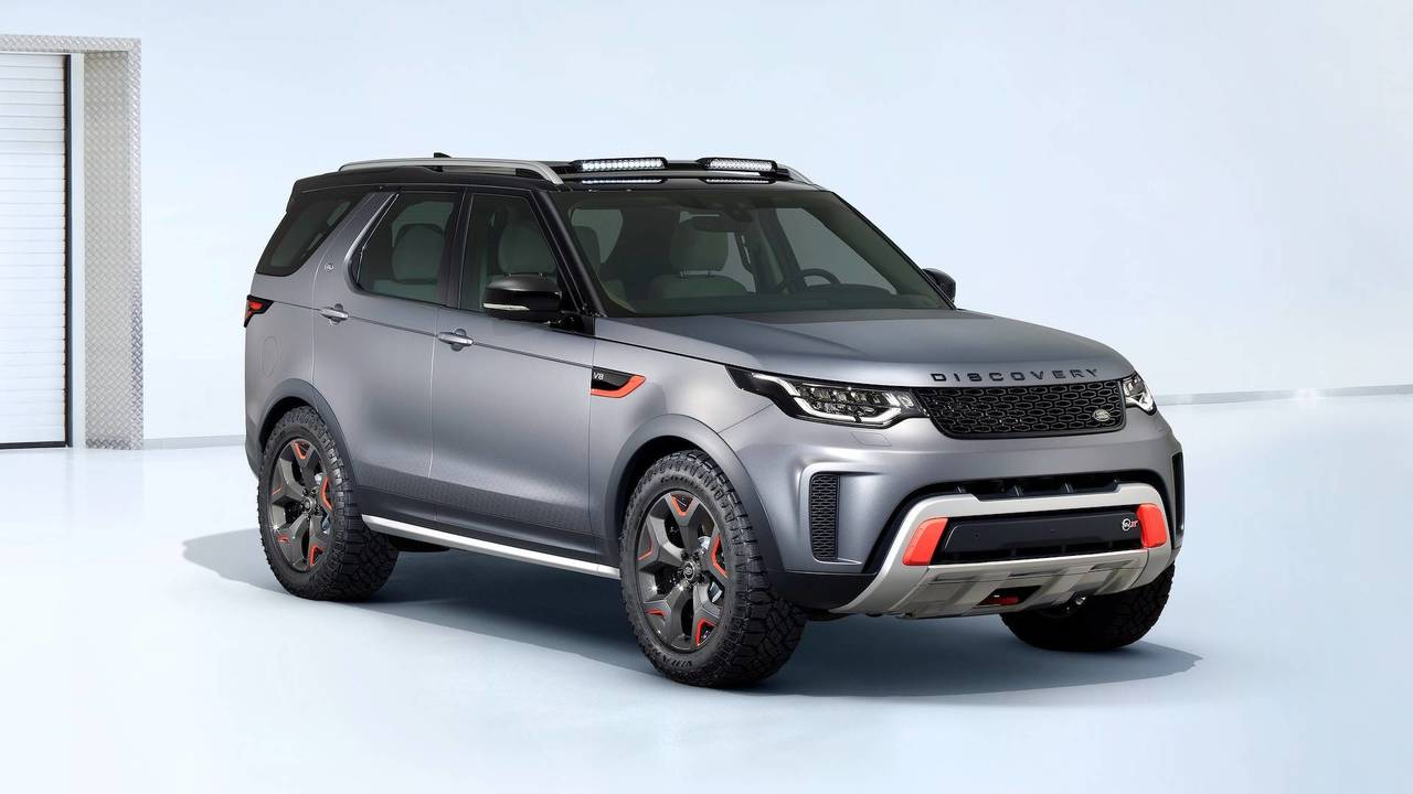 Land Rover Discovery SVX Concept