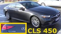 New Mercedes CLS 450 on the street