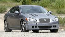 Jaguar XF-R Spied Again in Death Valley