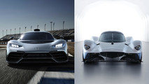 Mercedes-AMG Project One vs Aston Martin Valkyrie Feature