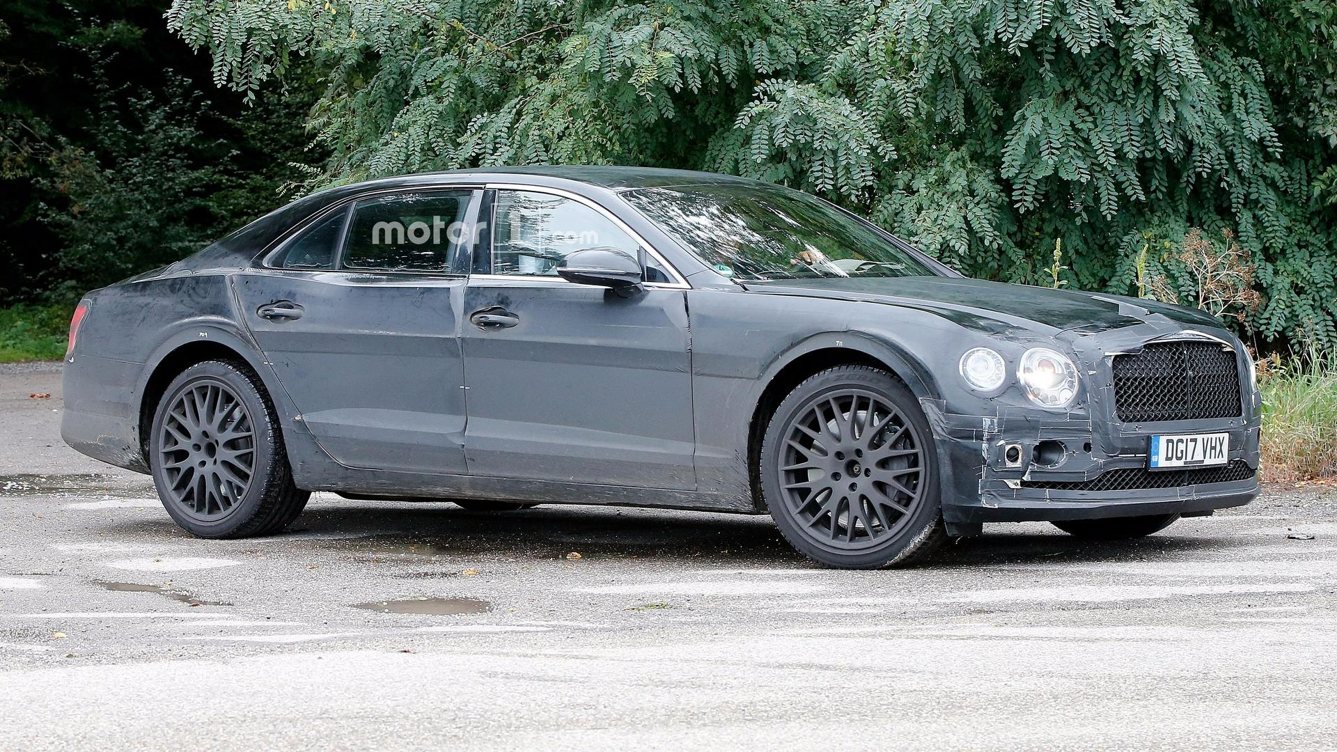 2017 Bentley Continental Gt W12 >> 2019 Bentley Flying Spur Caught Testing With New W12 Engine