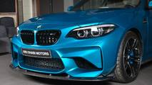 BMW M2 with carbon fiber aero package
