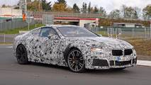 BMW M8 New Spy Photos Nürburgring