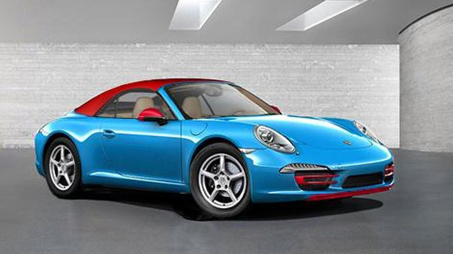 Porsche to introduce an eco-friendly 911 Blu Edition in Frankfurt?