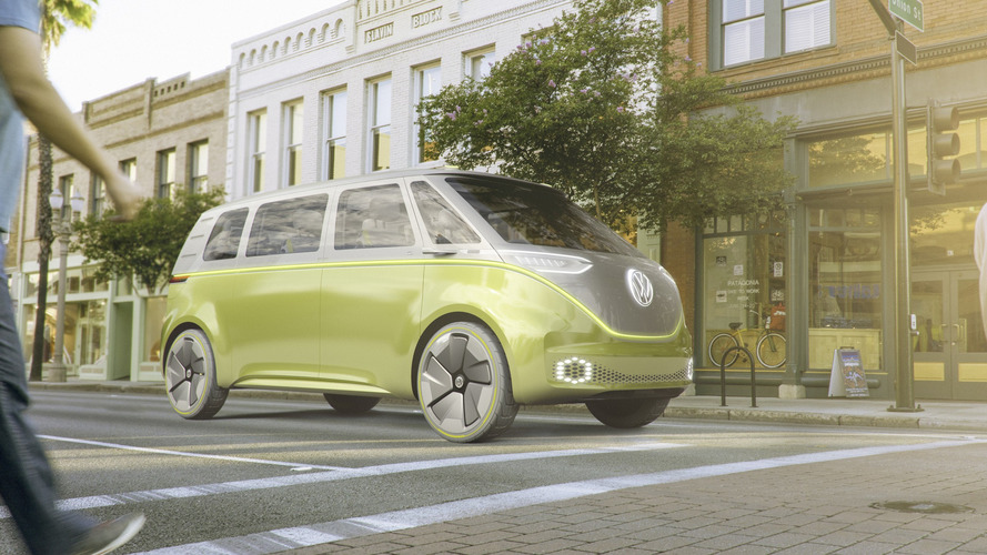 VW To Reveal I.D. Buzz Microbus Production Info At Pebble Beach