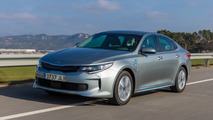 Euro-spec Kia Optima Plug-in Hybrid