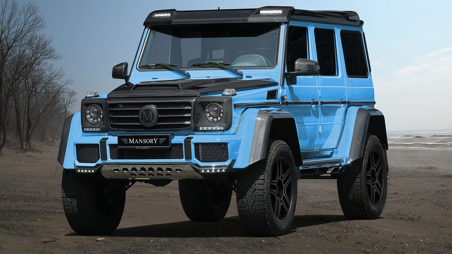 Mansory's Mercedes G500 4X4 gives no reason to feel blue