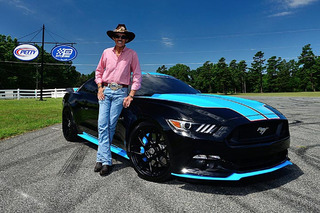 This Richard Petty Ford Mustang Sold Twice for $535,000 at Auction