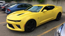 2016 Chevrolet Camaro SS photographed in Detroit