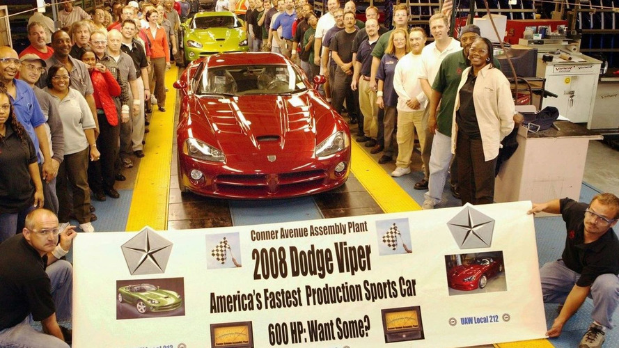 600hp Dodge Viper SRT-10 Goes Into Production