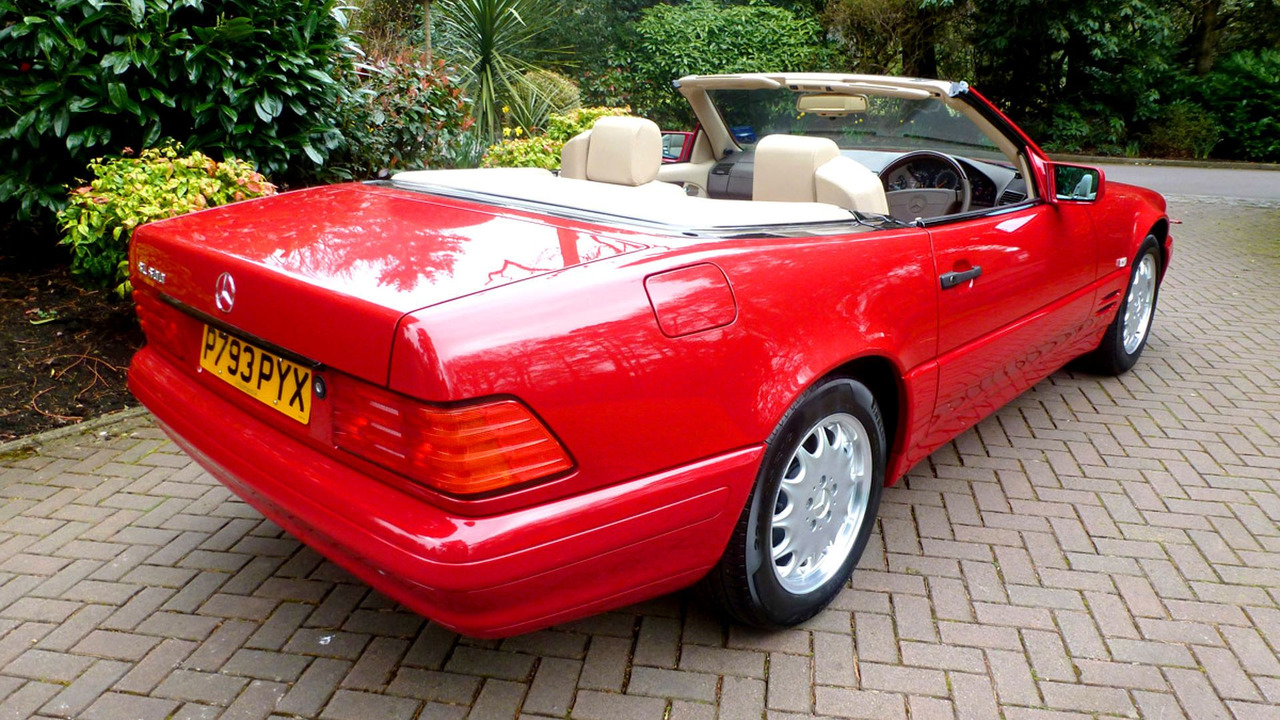 1996 Mercedes-Benz SL500