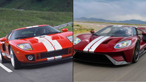 Ford GT - old versus new