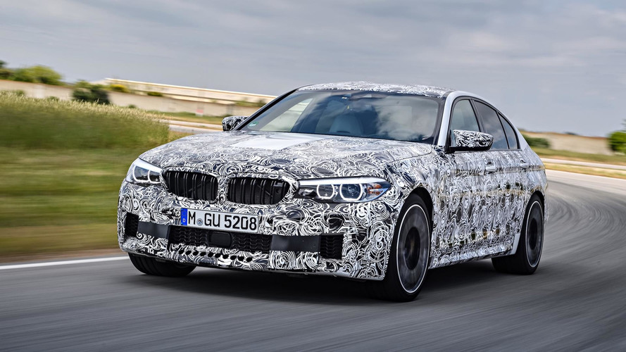 The 2018 BMW M5 Can Switch Between Rear- And All-Wheel Drive