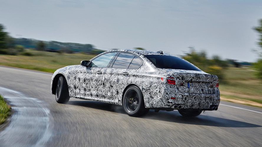 BMW Details New M5's xDrive System On Video