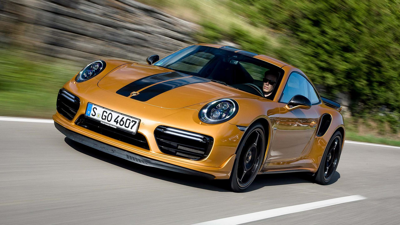 2017 Porsche 911 Turbo S Exclusive Series First Drive ...