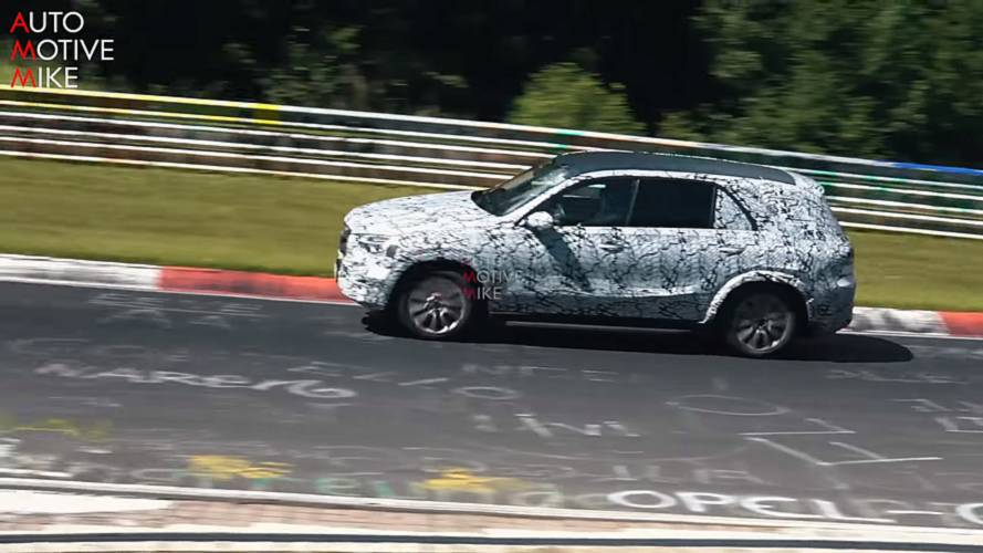 2019 Mercedes GLE-Class SUV Stalked For 9 Minutes At The 'Ring