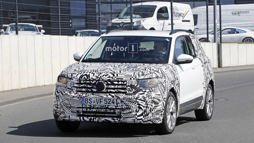 2019 VW T-Cross new spy shots