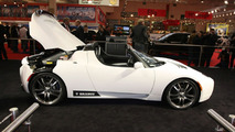 Brabus Tesla Roadster at Essen Motor Show