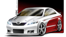 RK Collection Toyota Camry NASCAR Edition 01.11.2010