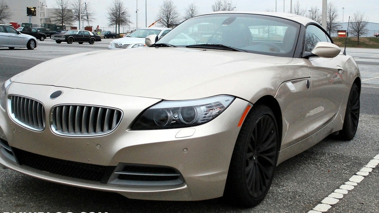 2009 BMW Z4 in BMW parking lot