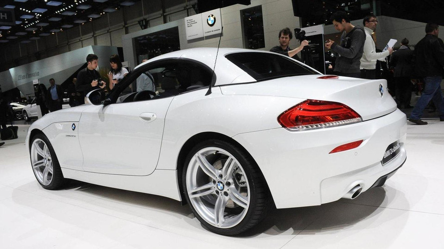 BMW Z4 Design Pure Balance goes topless in Geneva