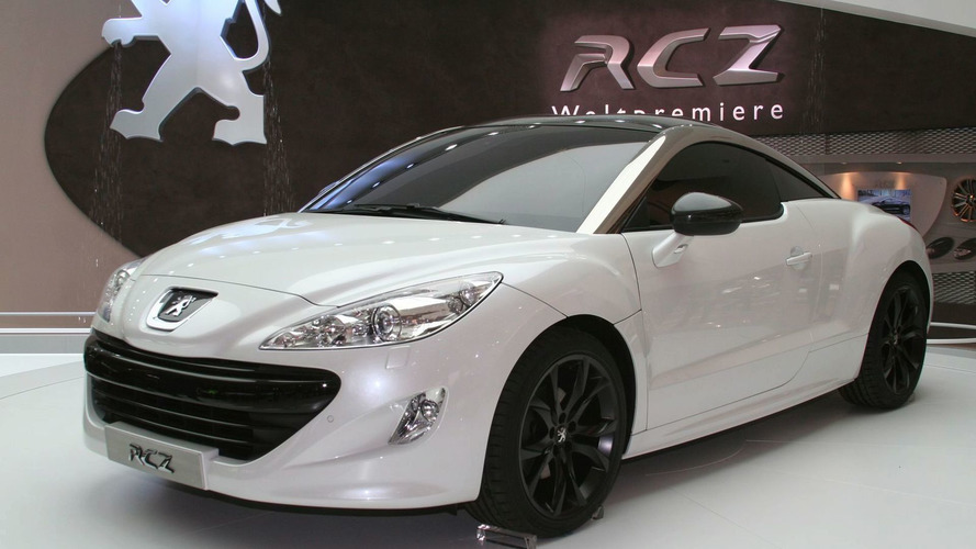Peugeot RCZ Limited Edition Announced