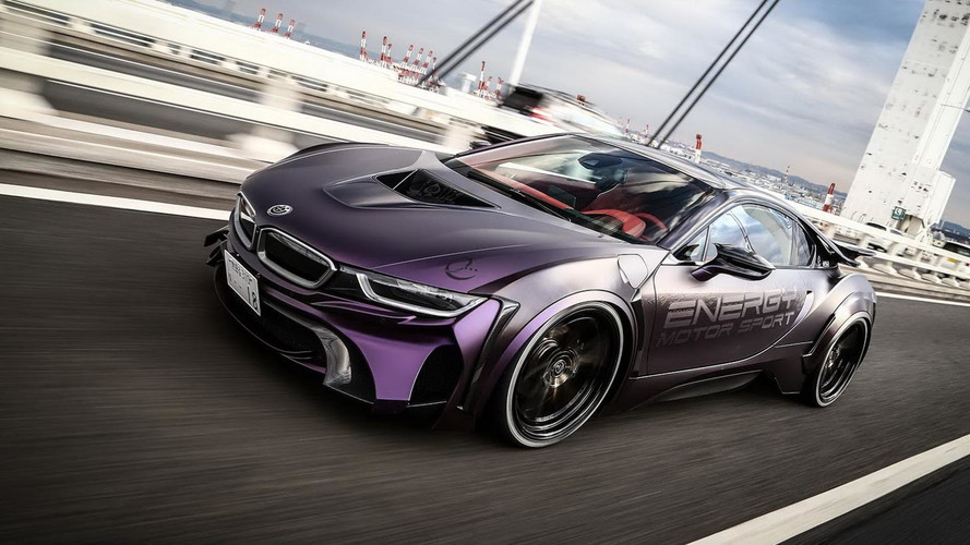 BMW i8 Dark Knight Edition Looks Insane In New Video