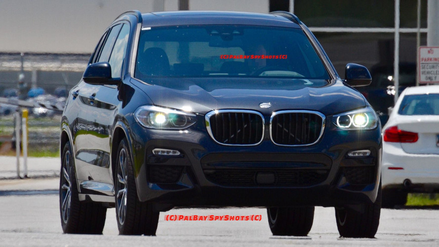 2018 BMW X3 M Sport Real World Spy Pice