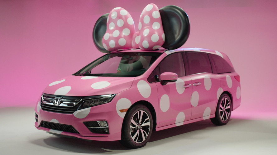 Honda Odyssey And Disney Create A One-Off Minnie Van