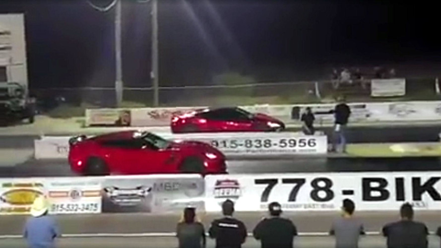 More Dumb Thieves Busted After Racing Stolen Cars At Drag Strip