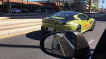 2019 Aston Martin Vantage spy photo