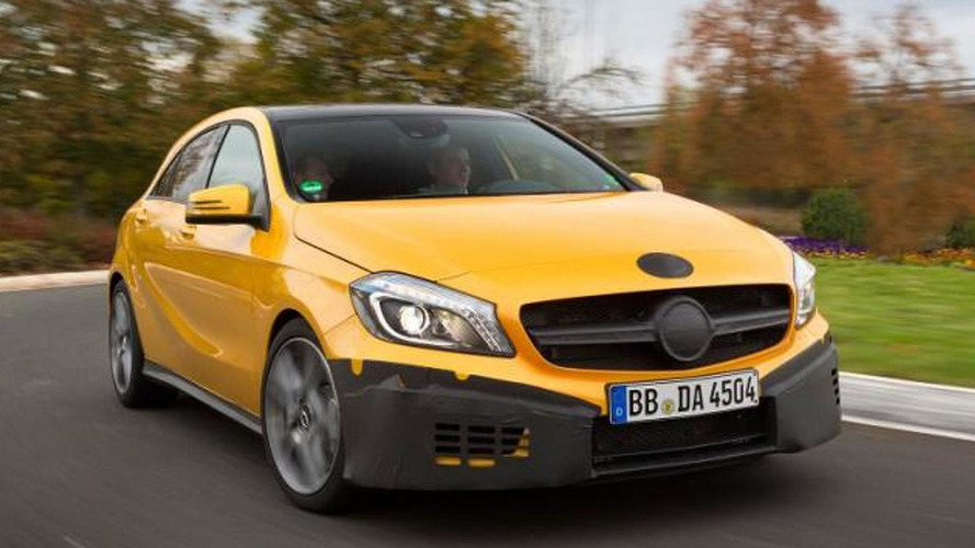 Mercedes-Benz A45 AMG breaks cover