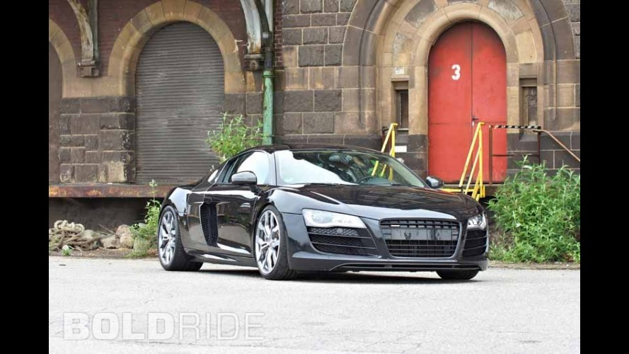 OK-Chiptuning Audi R8 Phantom Black Panther