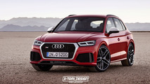 Audi RS Q5 speculative render