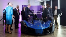 Prince William in the BAC Mono