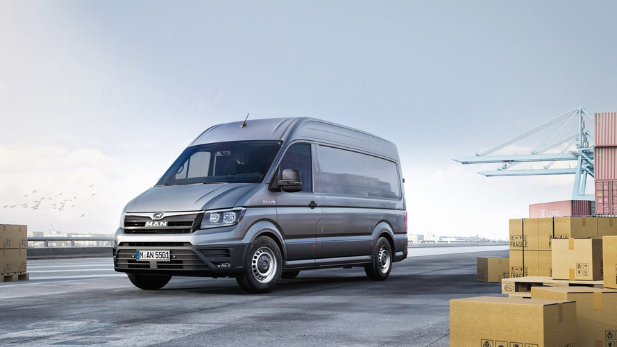 New MAN TGE van is a rebadged VW Crafter