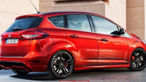 Ford C-MAX ST rendering / X-Tomi