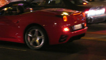 Ferrari California Caught During a Promotional Photo Shoot
