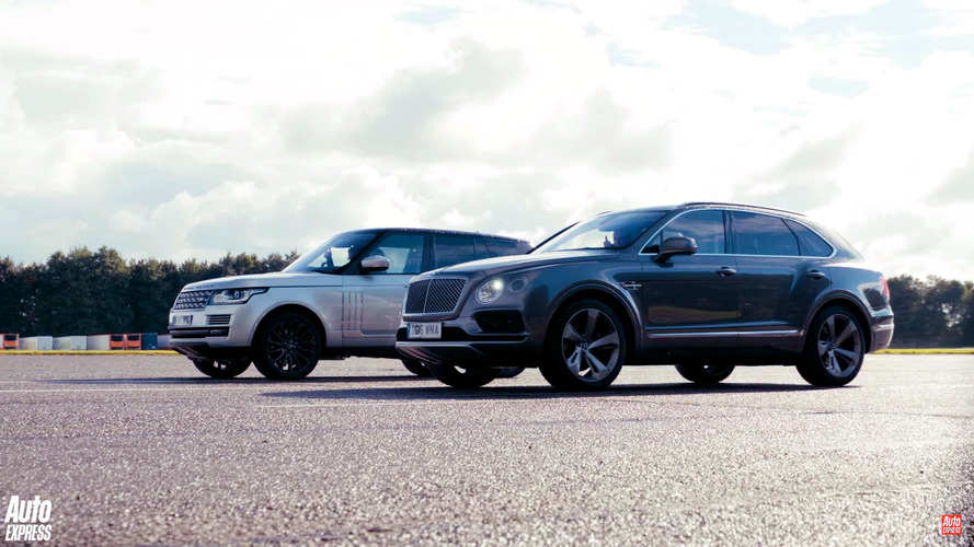 Brits don't care if Bentley Bentayga shames Range Rover in drag race