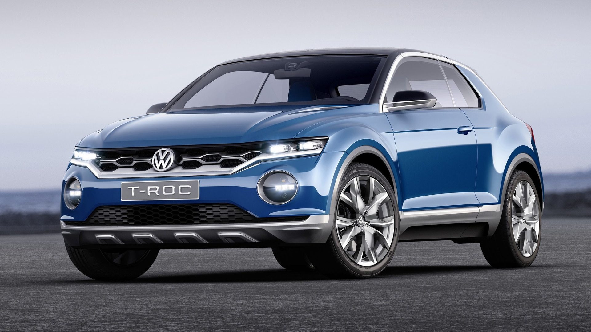 vw t roc compact crossover set for 2019 launch in u s. Black Bedroom Furniture Sets. Home Design Ideas