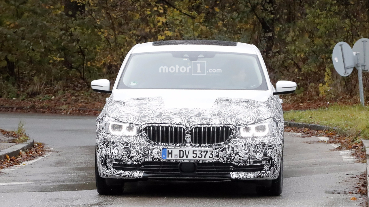 2018 BMW 6 Series GT spy photo