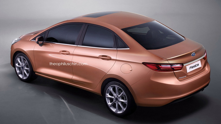 New Fiesta Sedan 2018 - projecao