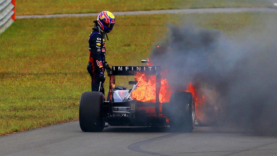 New chassis for Webber after Korea fire