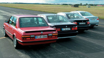 BMW M5 four generations